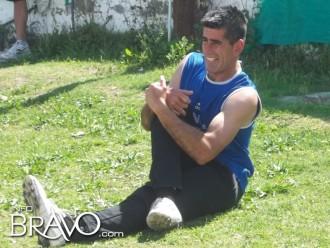 José Luis Sosa. El portero, de 40 años, debutó en el arco de Constitución y tuvo dos intervenciones muy buenas.